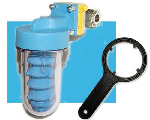 Filtri per acqua calcarea for Pineco trattamento acqua