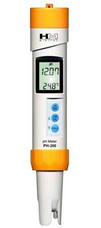 PH 200 PROFESSIONAL WATERPROOF PHMETER