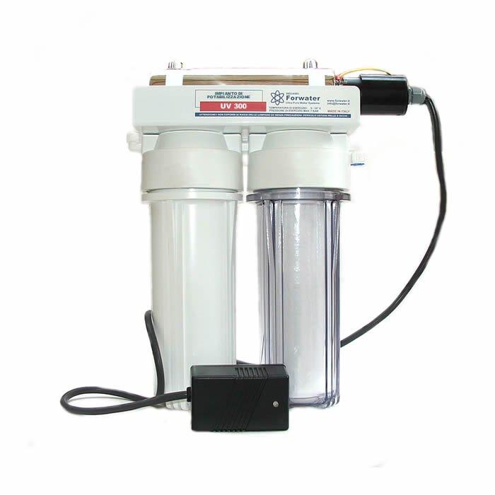 Uv 300 Impianto Di Potabilizzazione Depuratori Microfiltrazione